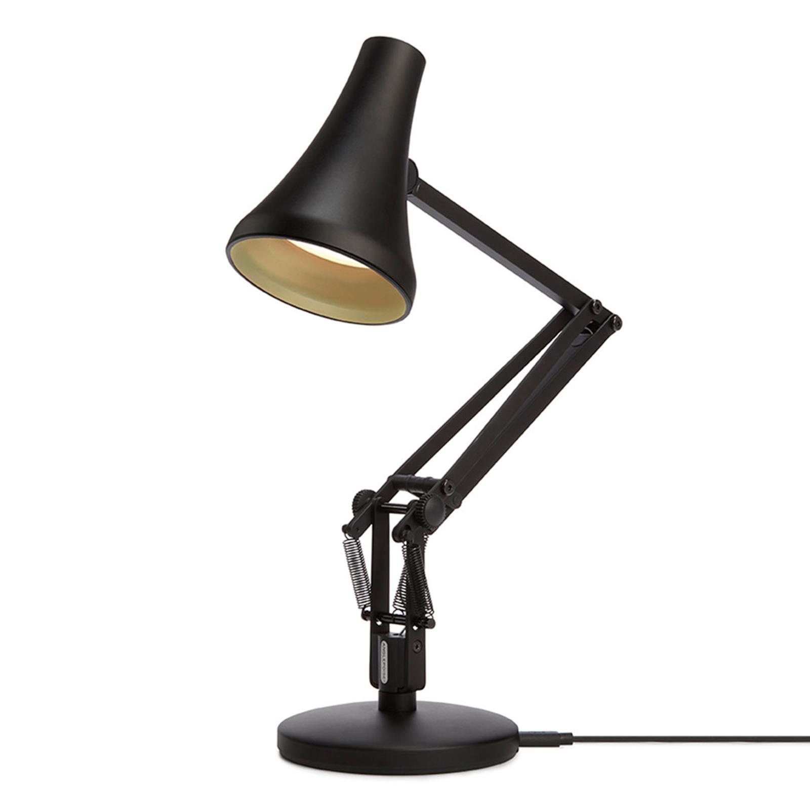 Anglepoise 90 Mini Mini LED-Tischlampe schwarz