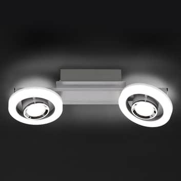 LED-Deckenleuchte Detroit mit Dimmer