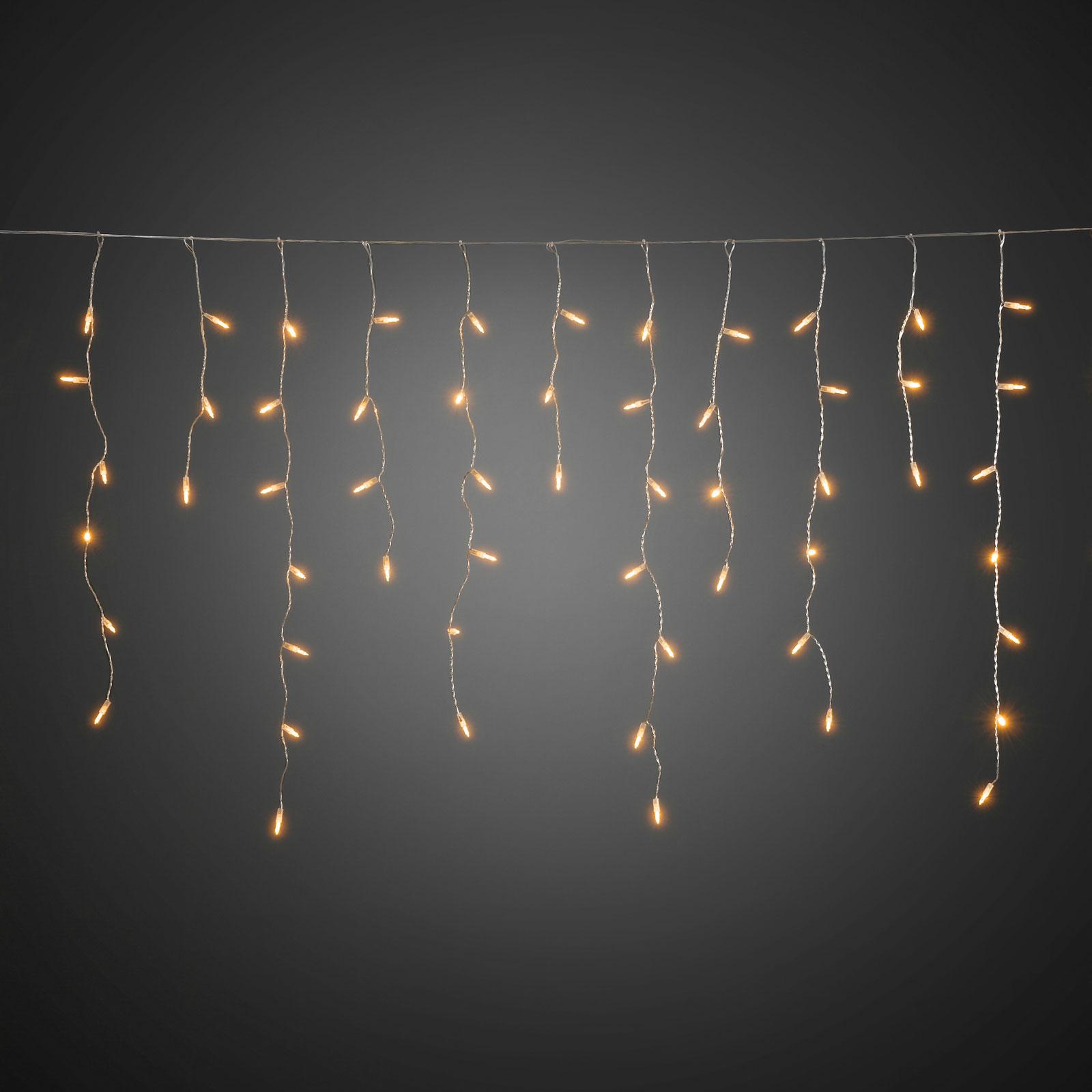 Isregn LED-lysforhæng til udendørs brug