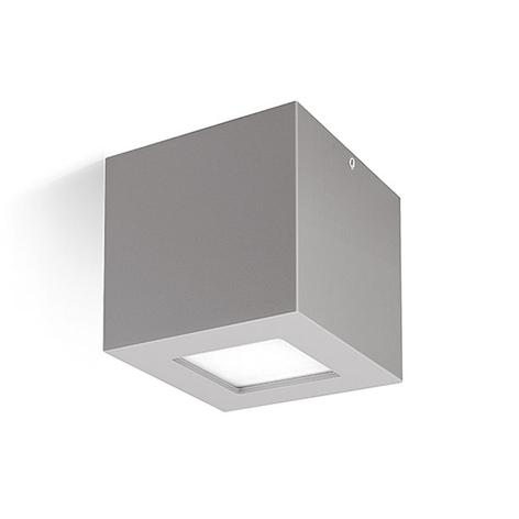 LED-Wandleuchte 3033 in Grau, 1NB+1WB