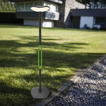 Poppy LED solare da terra con altoparlante 3W