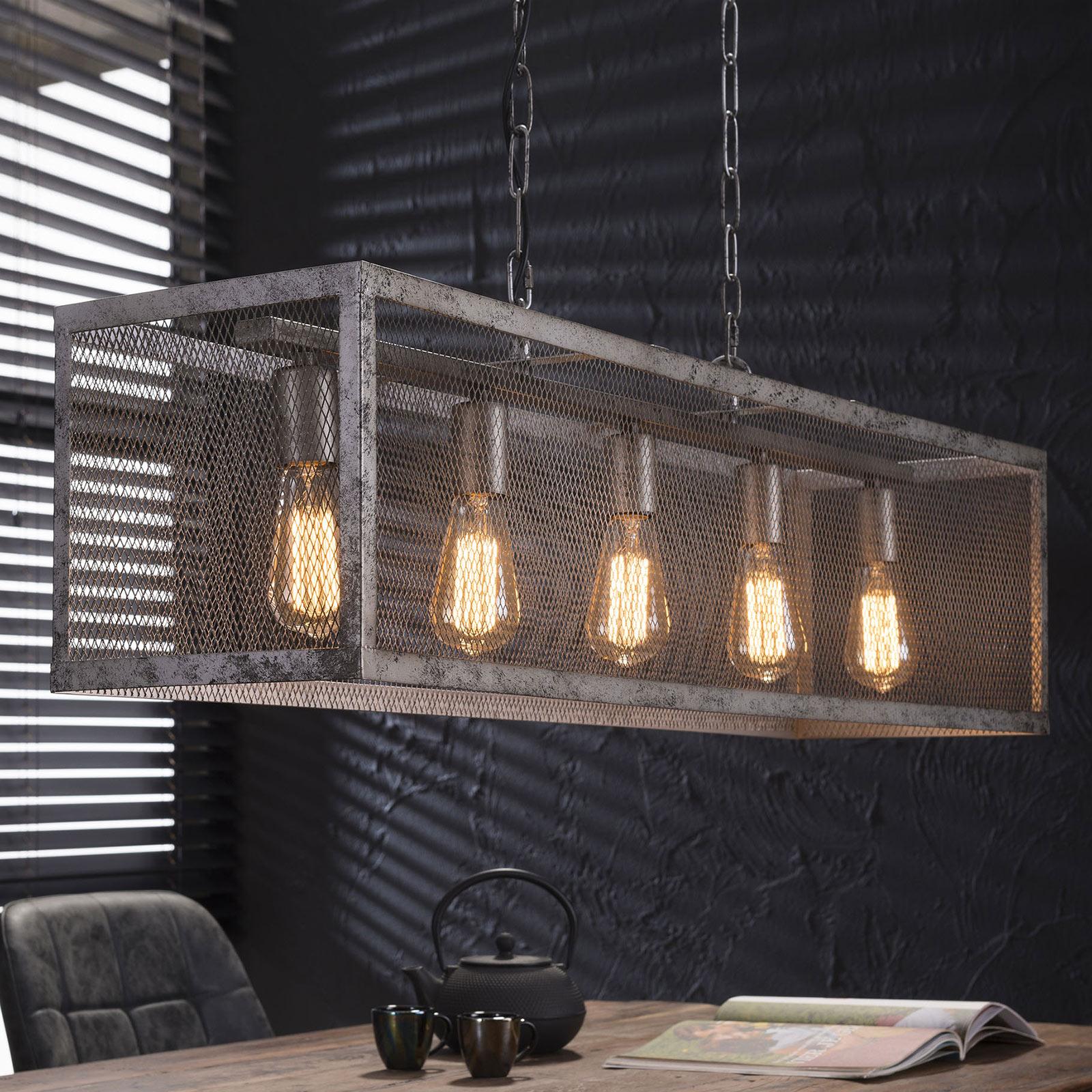 Suspension Squaregrid à 5 lampes