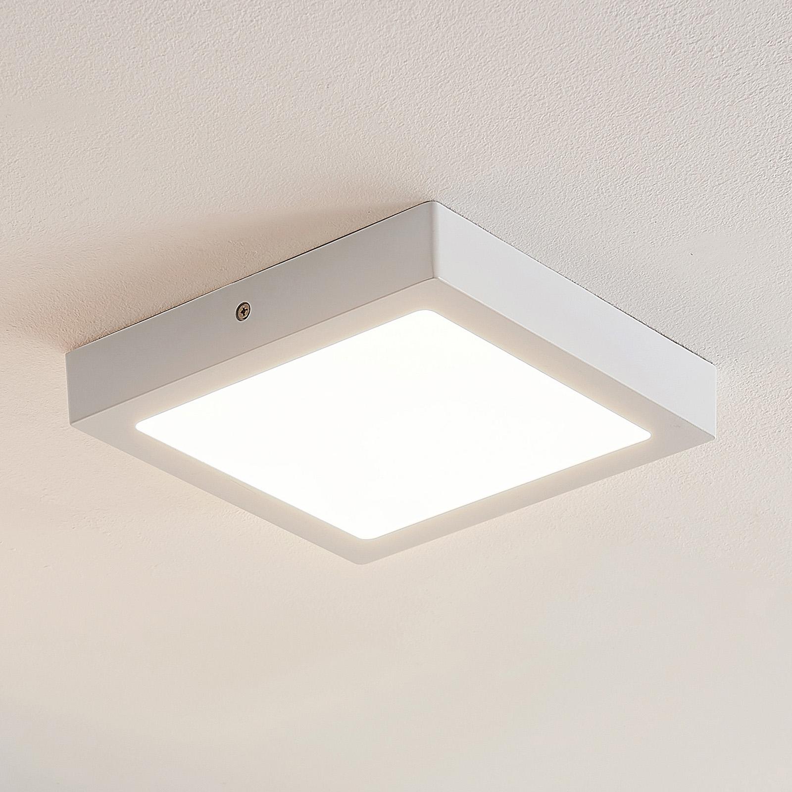 ELC Merina lampa sufitowa LED biała, 21,5 x 21,5cm