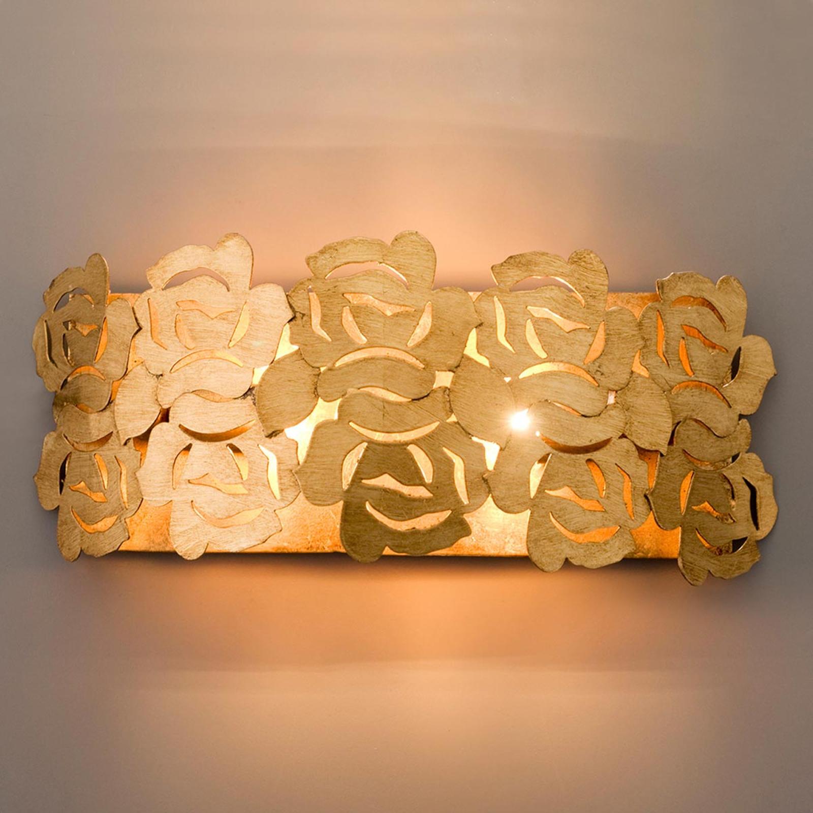 Goldene Wandleuchte Genua