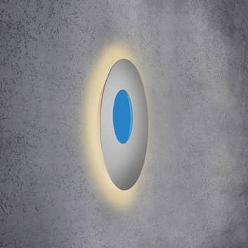 Escale Blade Open applique LED RGB+W argento
