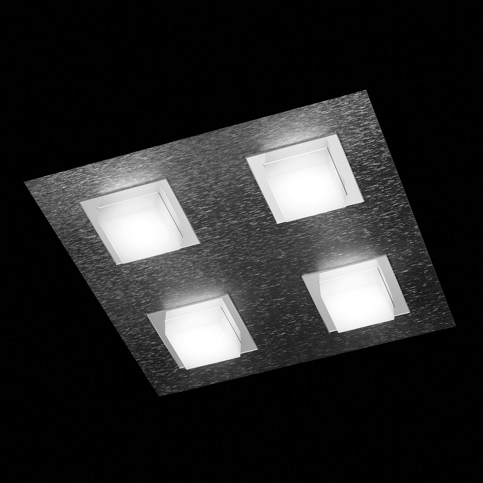 Produktové foto GROSSMANN GROSSMANN Basic LED stropní svítidlo 4zdr antracit