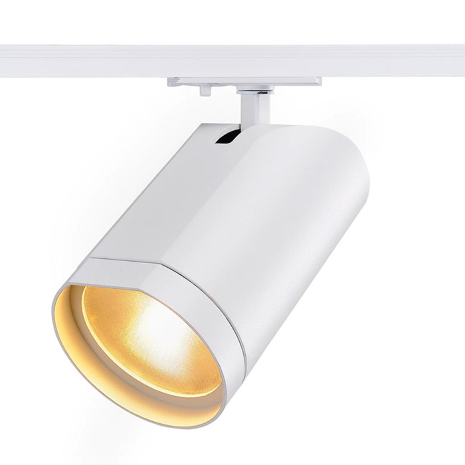 Lyssterk LED-spot Bilas til 1-faset skinne, 60°
