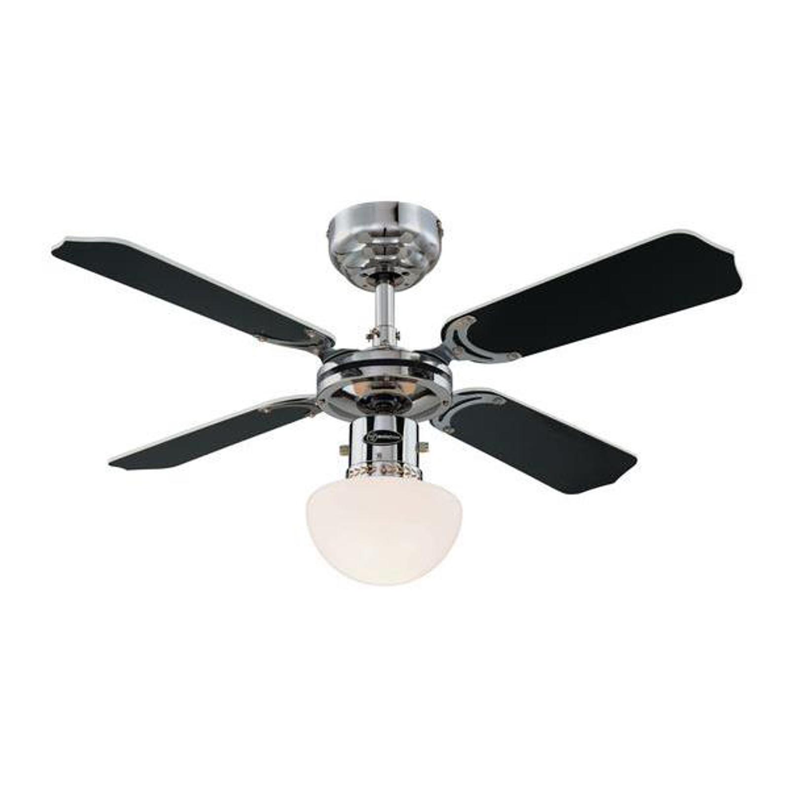 Ventilateur de plafond lumineux PORTLAND AMBIANCE