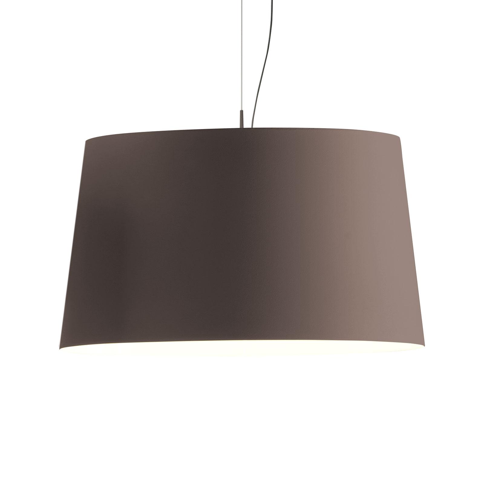 Vibia Warm 4926 lampa wisząca, brązowy
