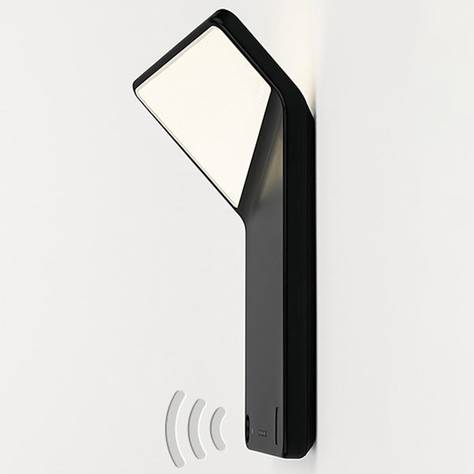 Nimbus Winglet CL LED-Wandleuchte, schwarz matt