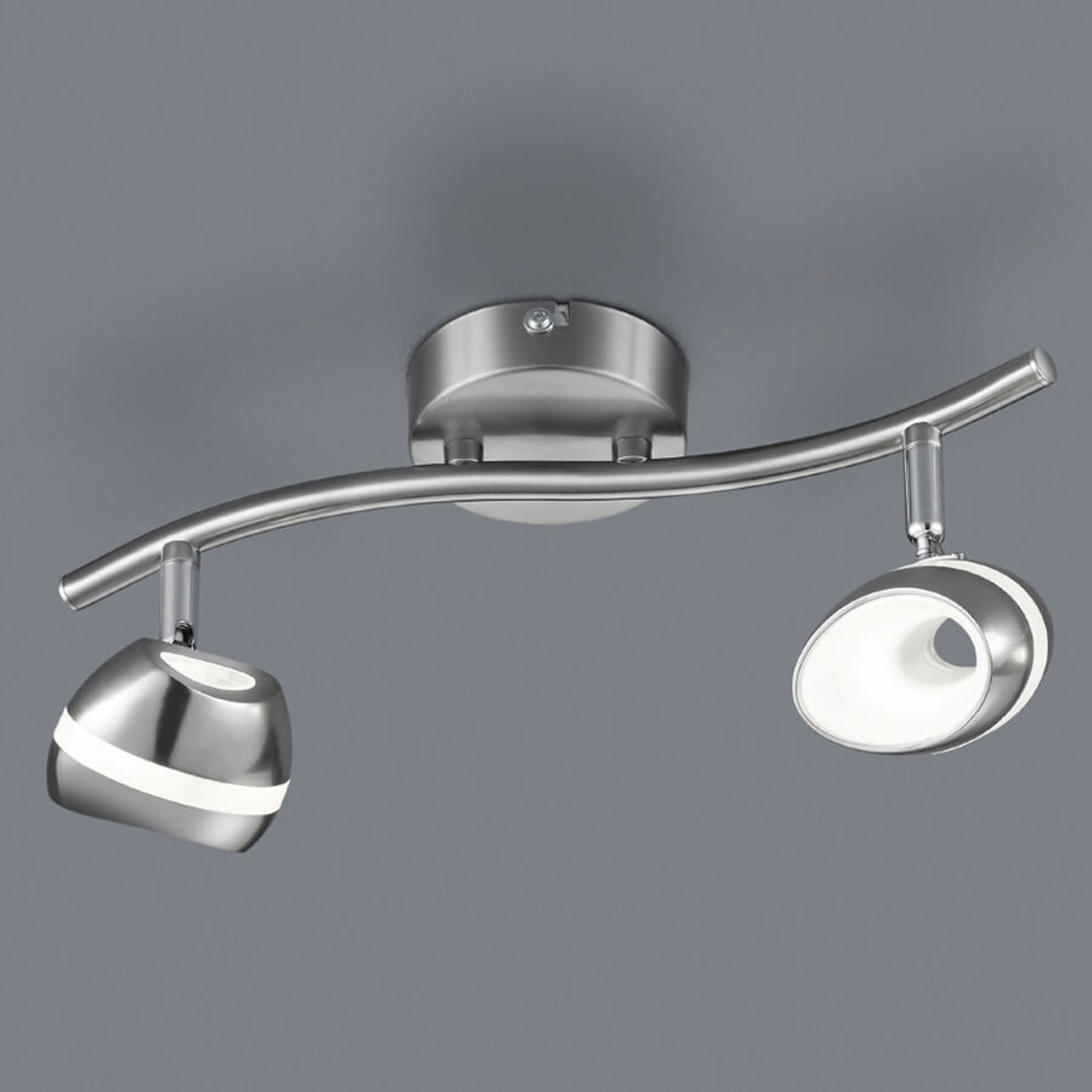 Shark – 2-punktowa lampa sufitowa LED
