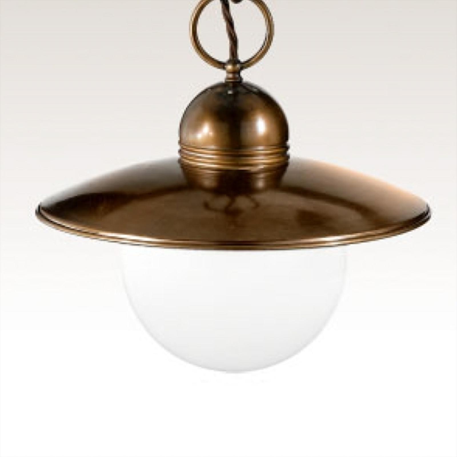Okúzľujúca závesná lampa Taverna