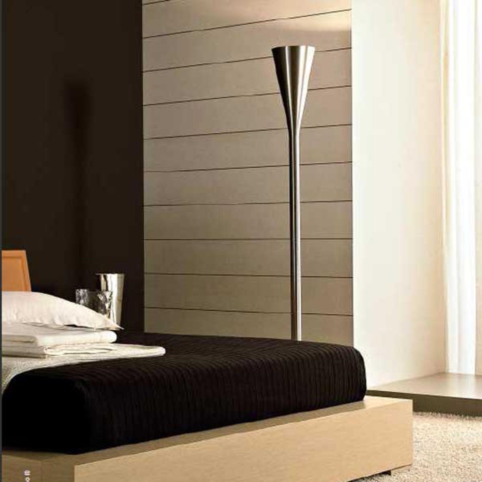 Fontana Arte Luminator LED-golvlampa, nickel