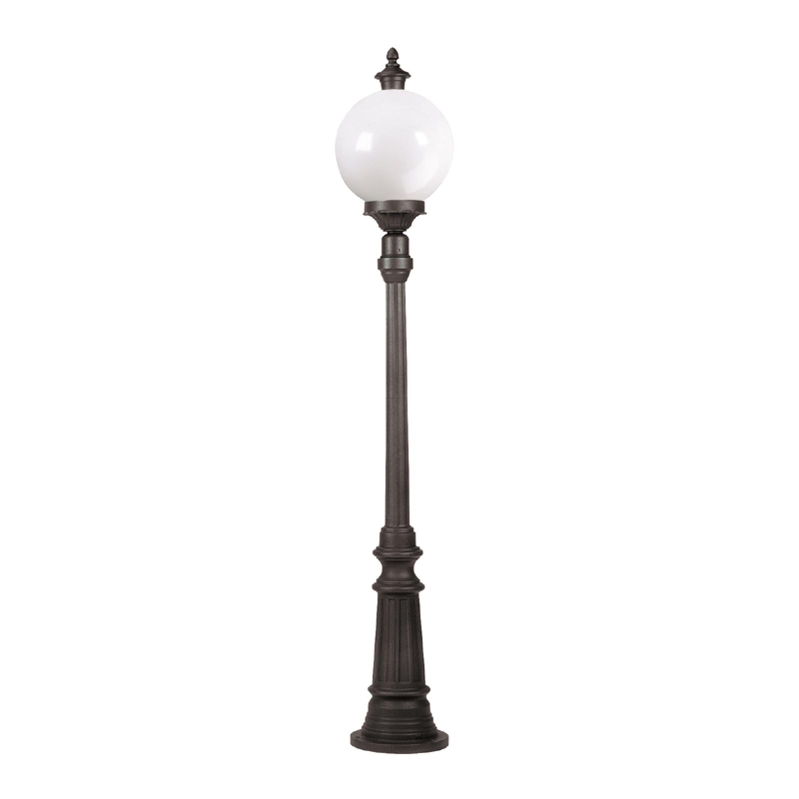 Lampadaire Madeira à 1 lampe anthracite