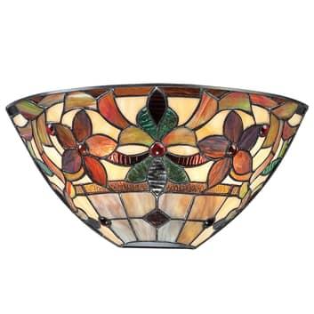 Vägglampa Kami i Tiffany-stil