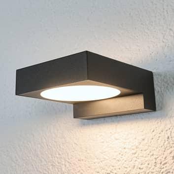 Czarna łazienkowa lampa ścienna LED Natalja