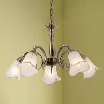 Hængelampen Dalin - 5 lysk.