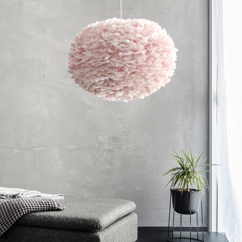 UMAGE Eos large suspension plumes light rose