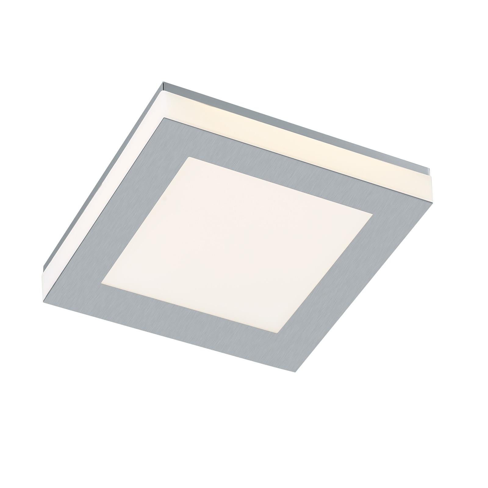 B-Leuchten Quadro LED-taklampe 22x22cm