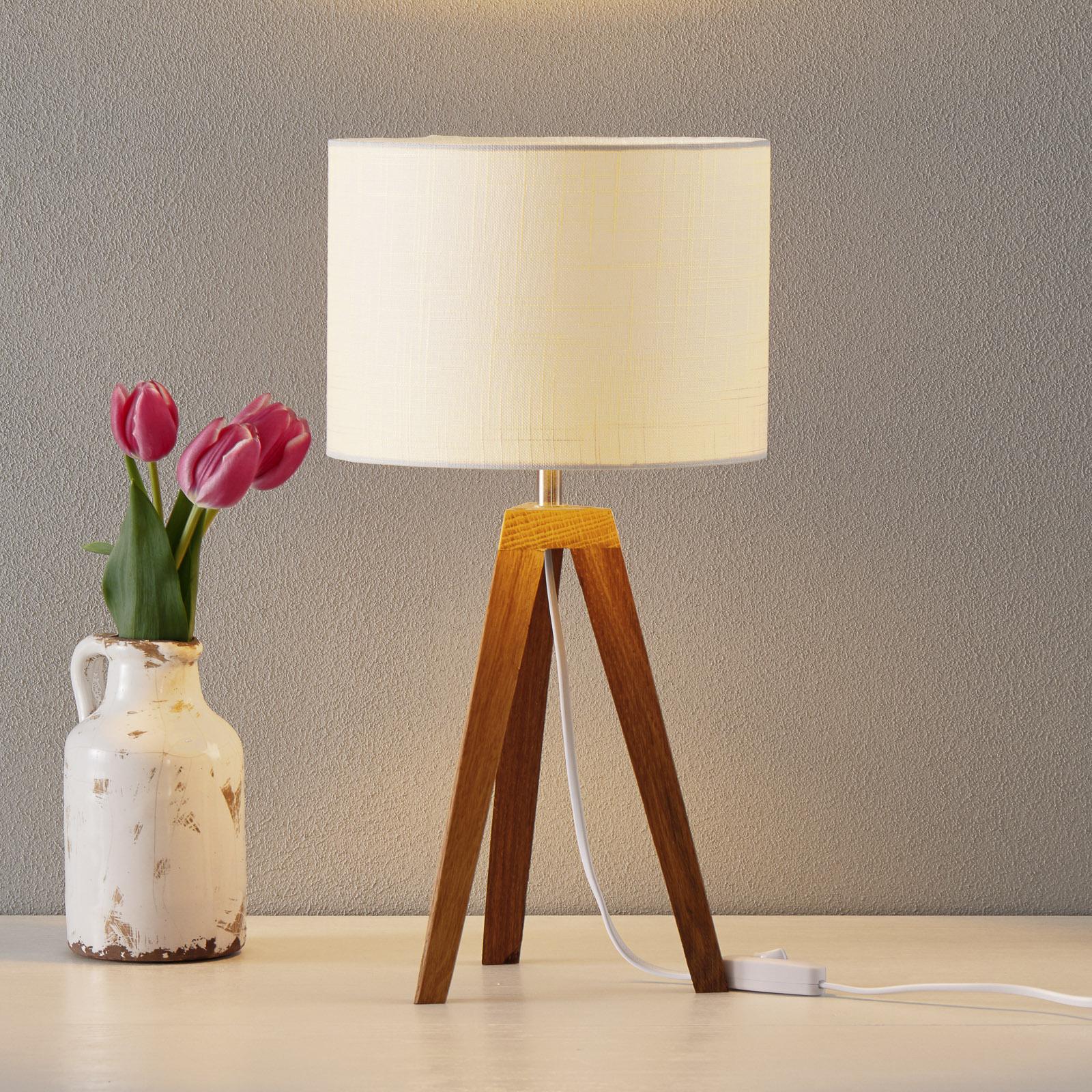 Prosta lampa stołowa Kullen