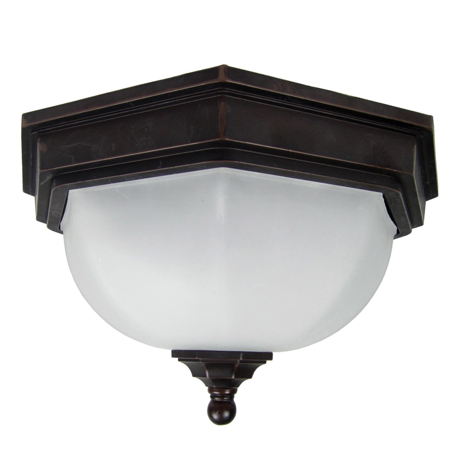 Ładna lampa sufitowa zewnętrzna Fairford