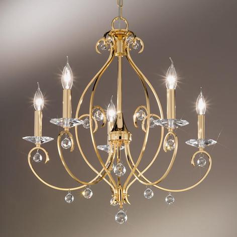KOLARZ Carat - lustre à 5 lampes