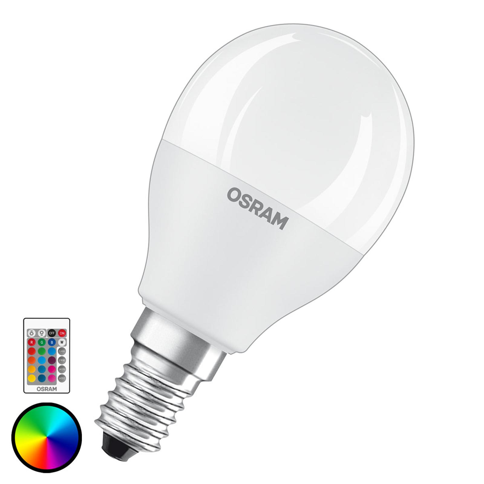 OSRAM LED-Lampe E14 5,5W Star+ Tropfen matt Remote