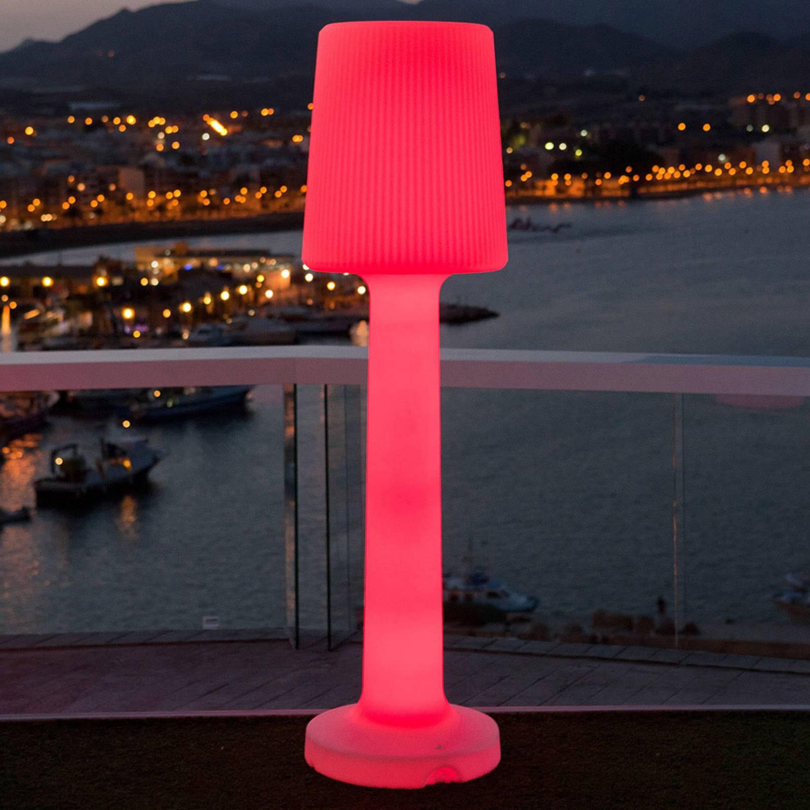 Newgarden Carmen lampa stojąca, akumulator, 110 cm