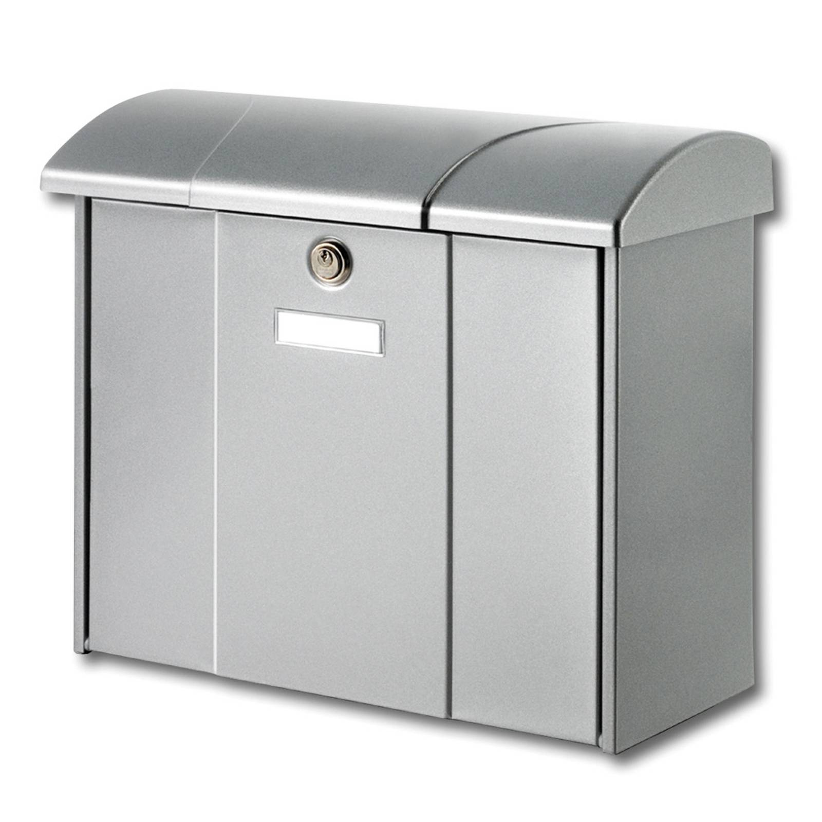 Olymp letterbox in silver