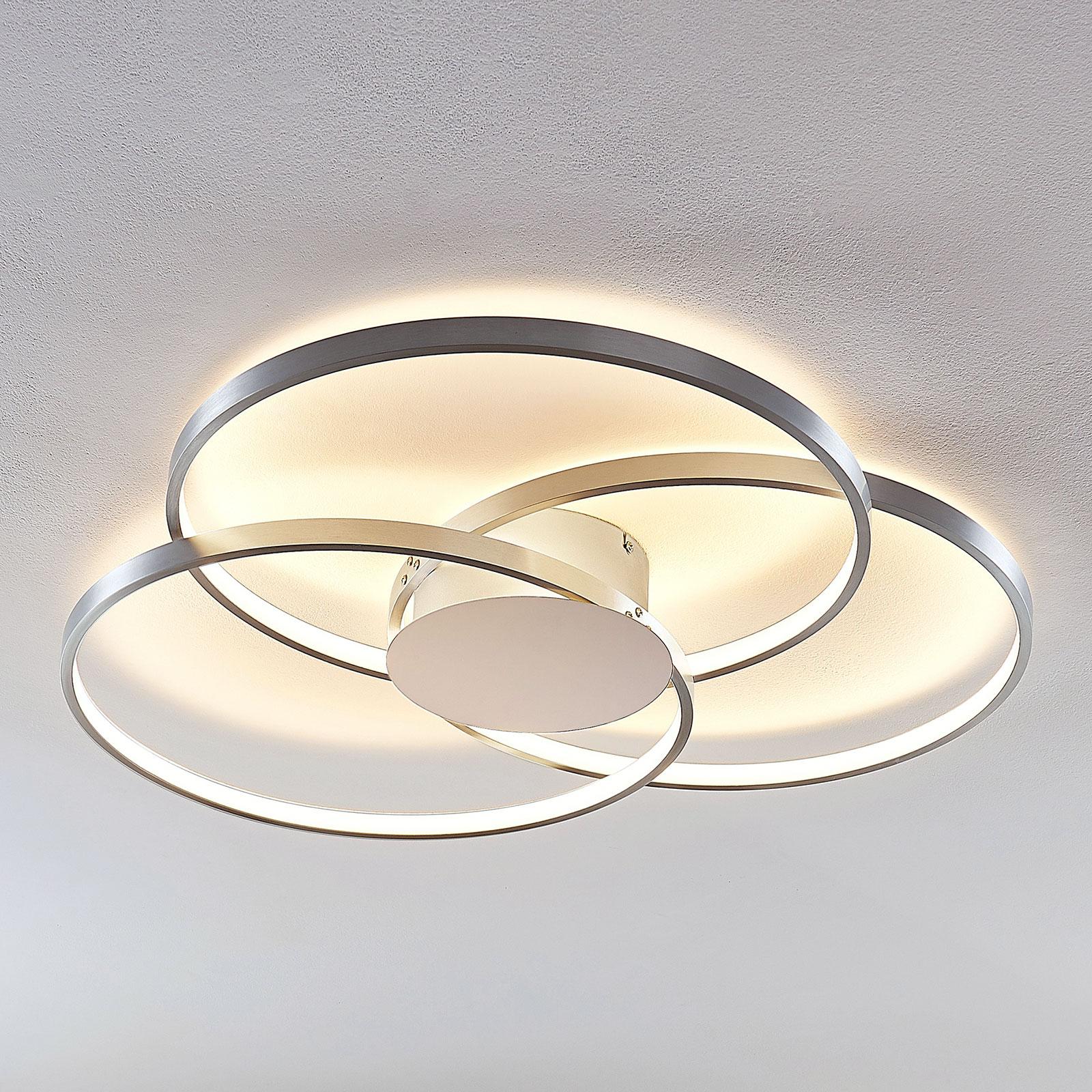 Lindby Riley lámpara de techo LED atenuable