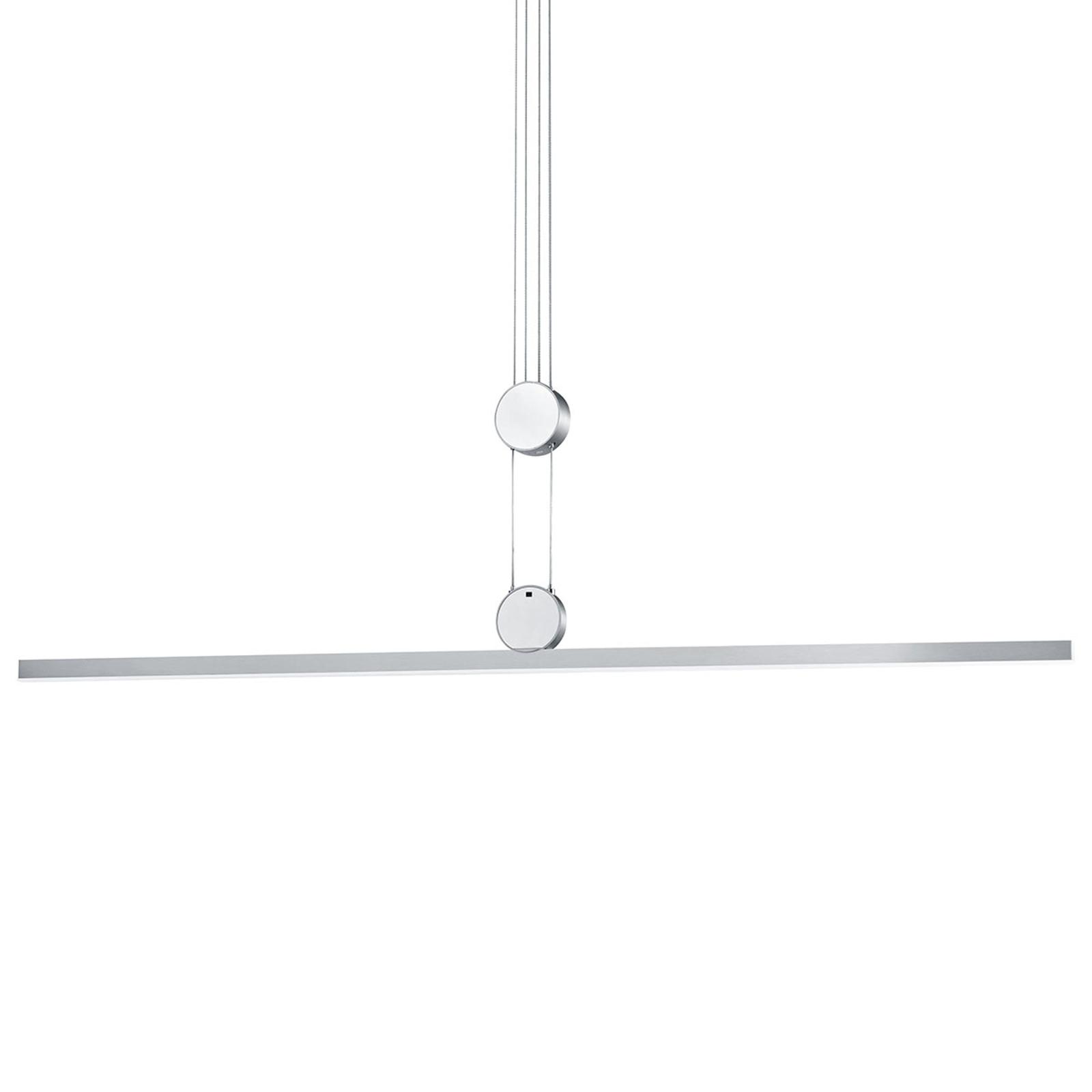 B-Leuchten Move hanglamp rechte lampenkap
