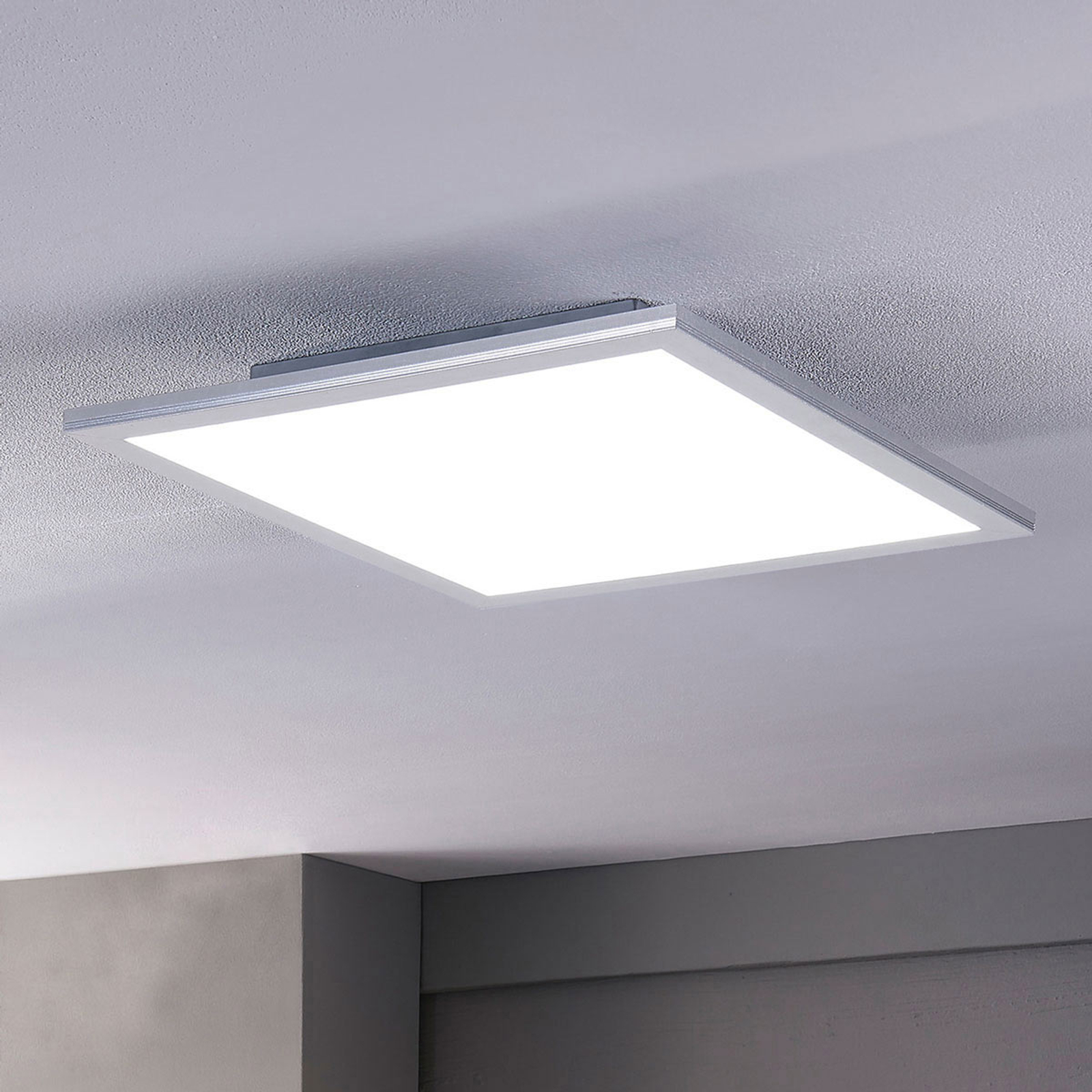 Lindby Stenley LED panel, CCT, 40 cm x 40 cm