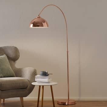 Lámpara de pie Pelin arqueada