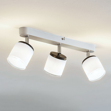 LED-Deckenspot Futura, 3-flammig lang
