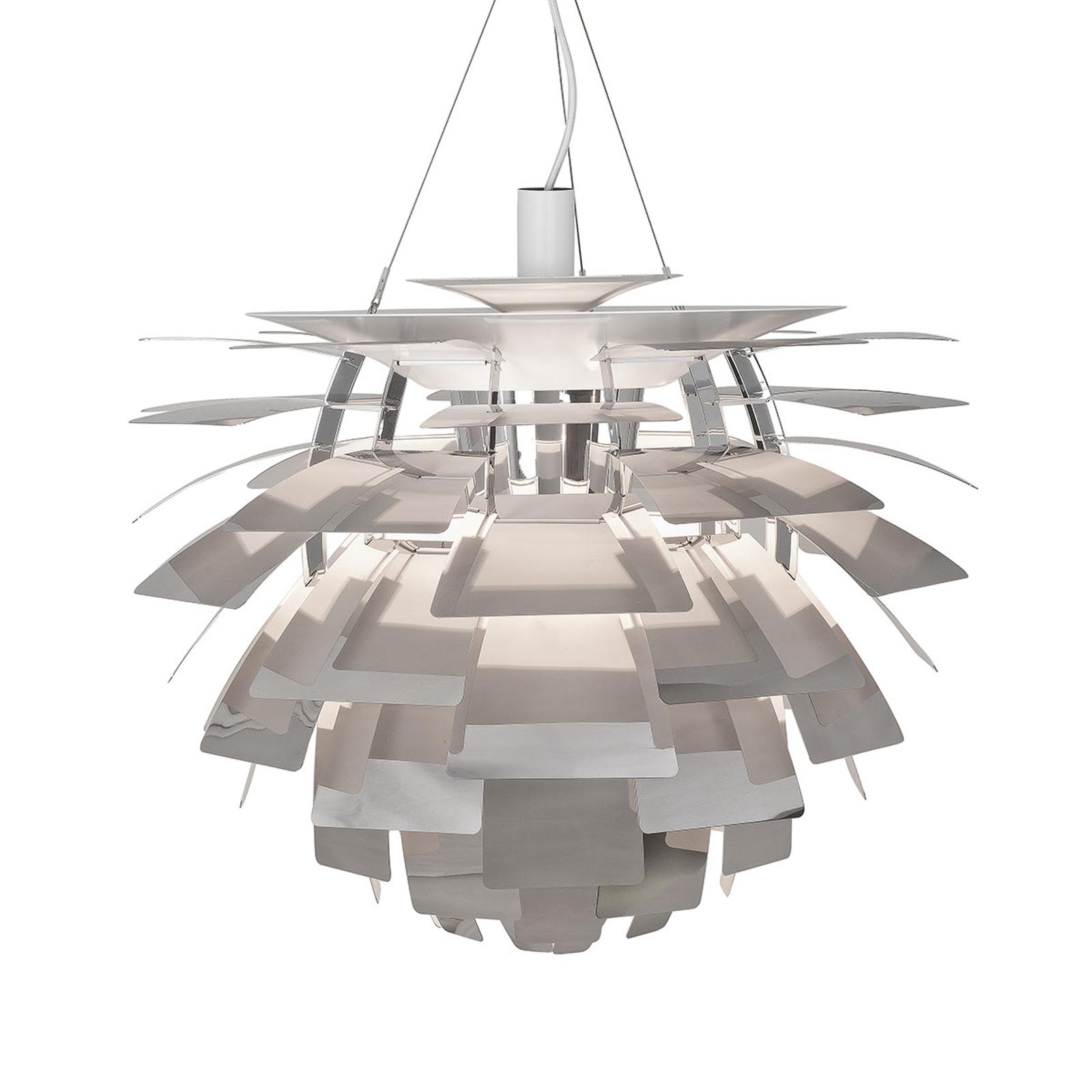 Hanglamp PH Artichoke gepolijst roestvrij staal