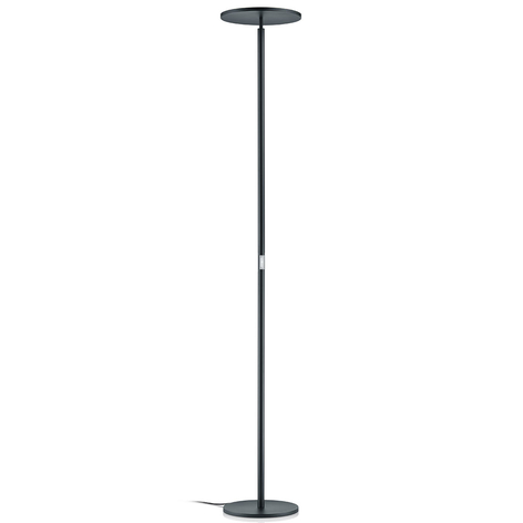 Commande gestuelle - lampadaire indirect LED Omar