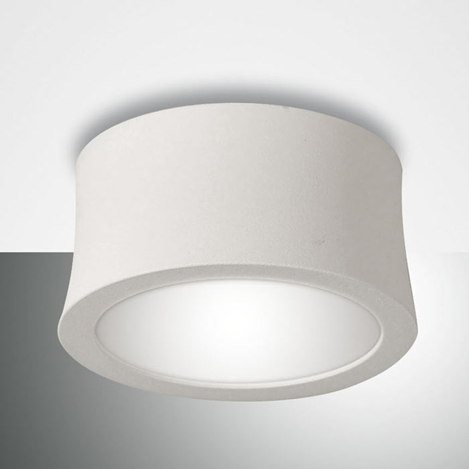Witte LED downlight Ponza concave vorm