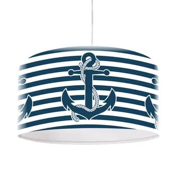 Námořní závěsné světlo Ahoi s motivem kotvy