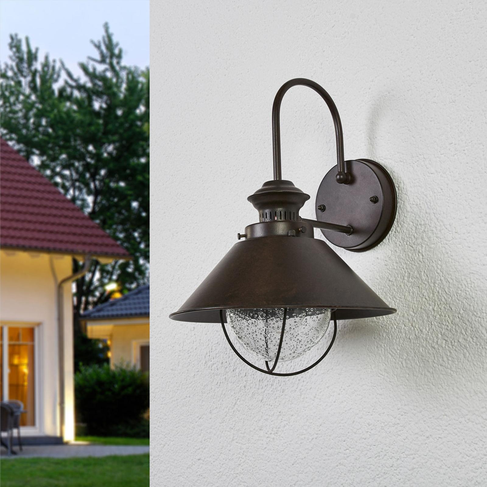Venkovní nástěnné svítidlo Nautica Ø 26 cm