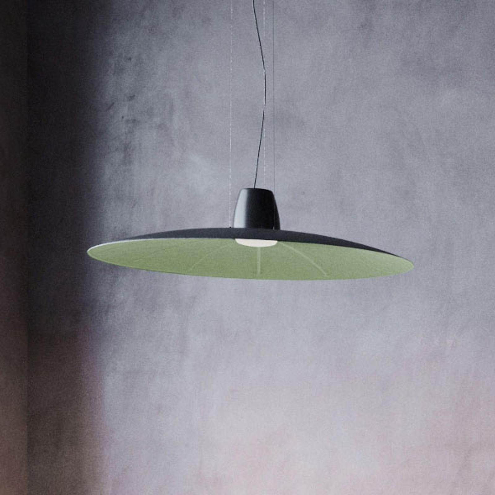Martinelli Luce Lent LED-Hängeleuchte, grün