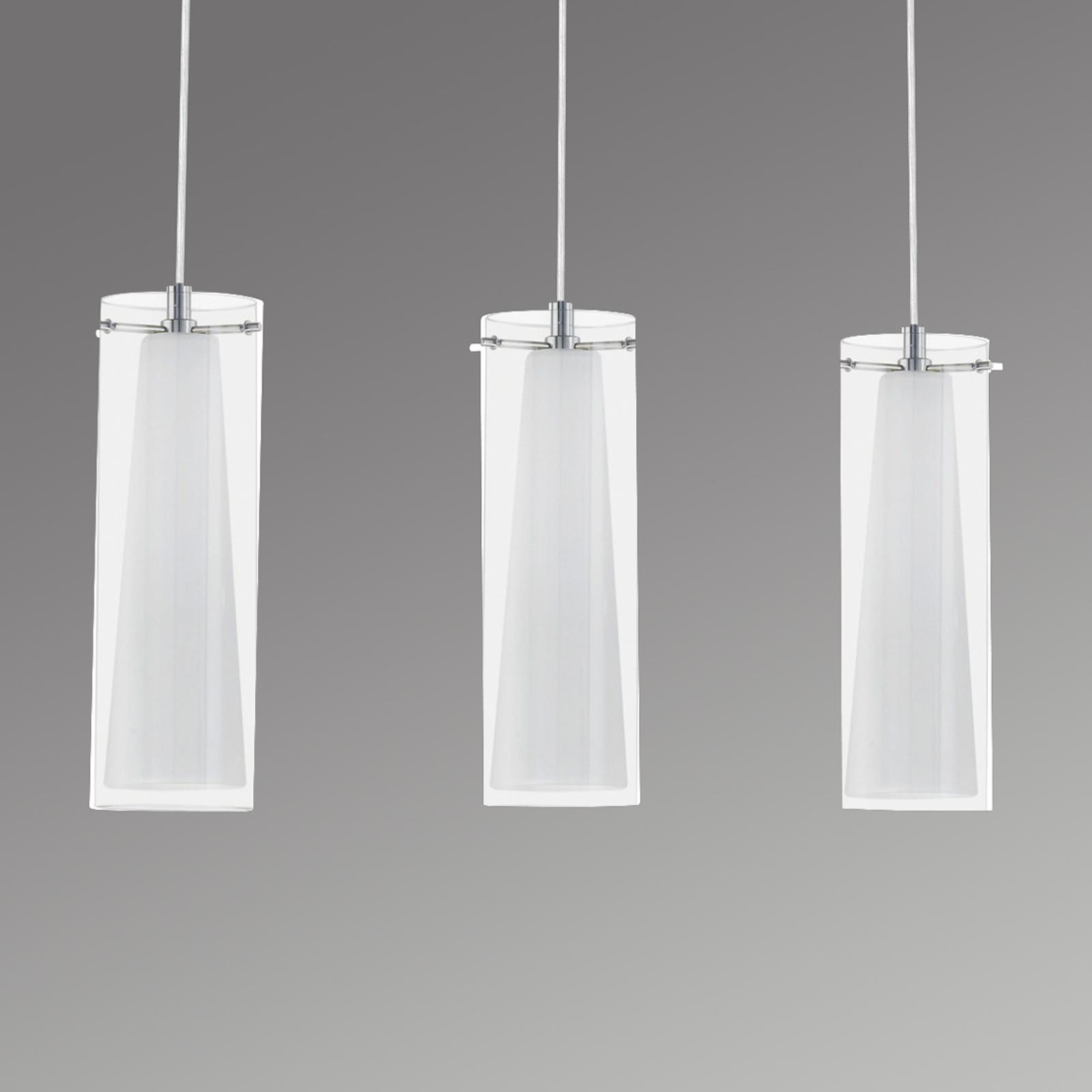 Elegante lámpara colgante PINTO, 3 bombillas