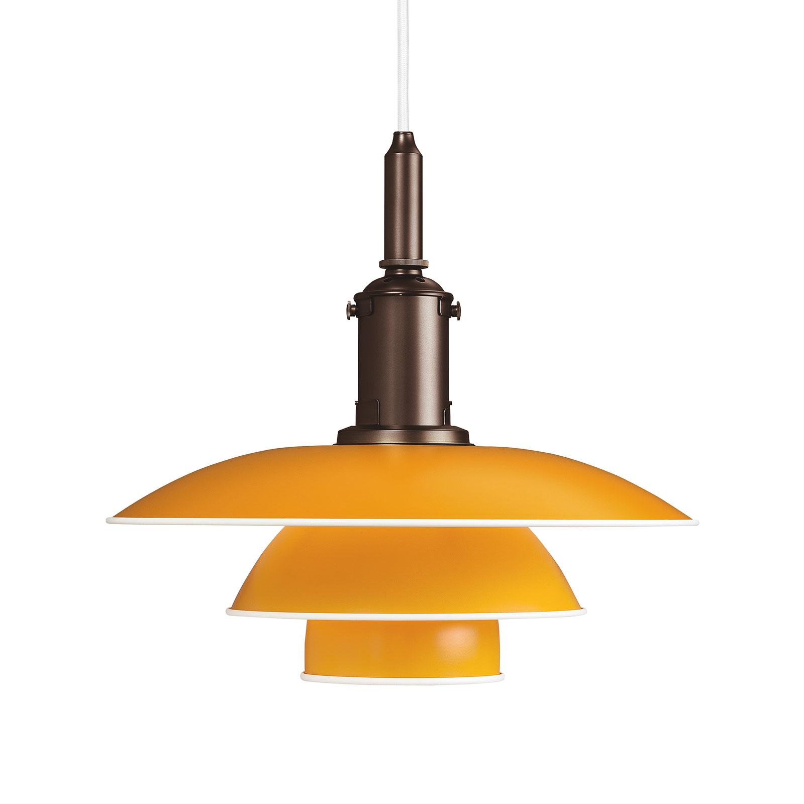 Louis Poulsen PH 3 1/2-3 hængelampe kobber/gul