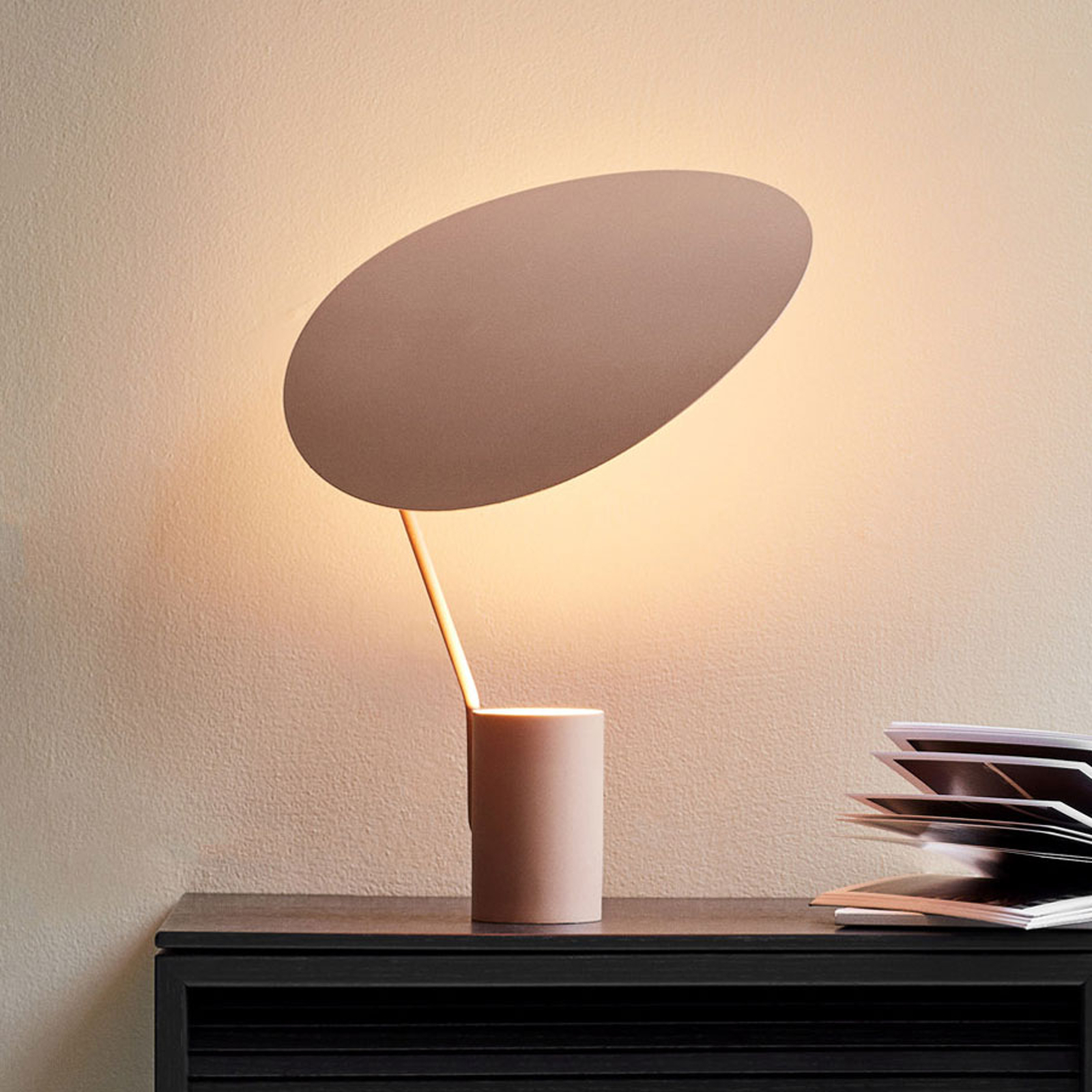 Northern Ombre tafellamp beige