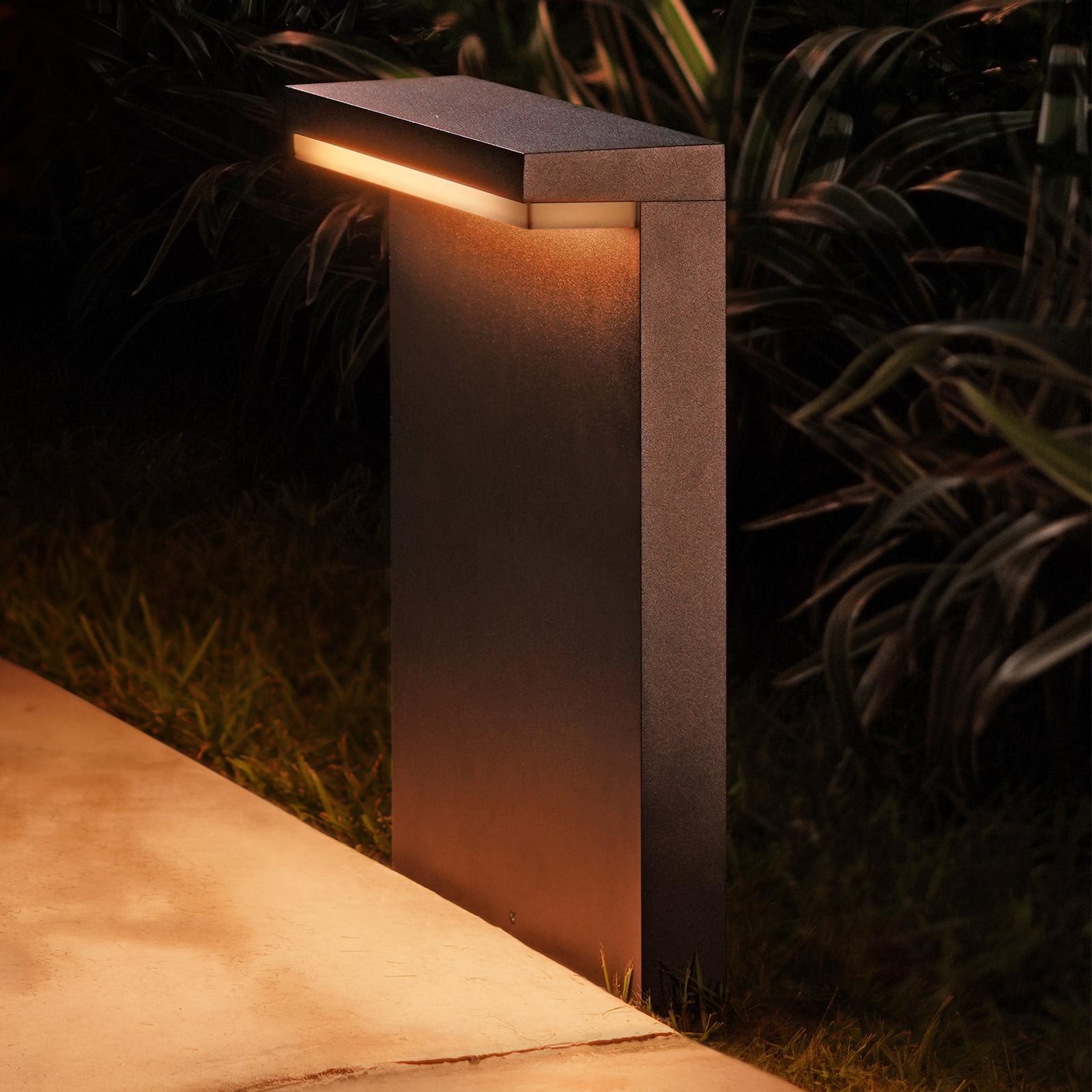 Philips Hue WACA Nyro LED-sockellampa svart