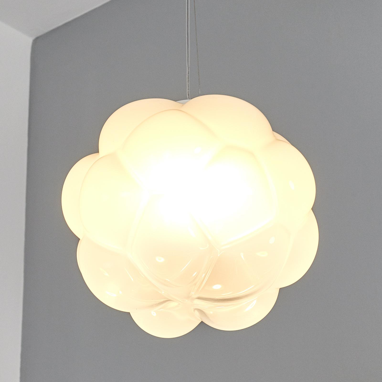 Fabbian Cloudy - LED-hængelampe, skyformet, 26 cm