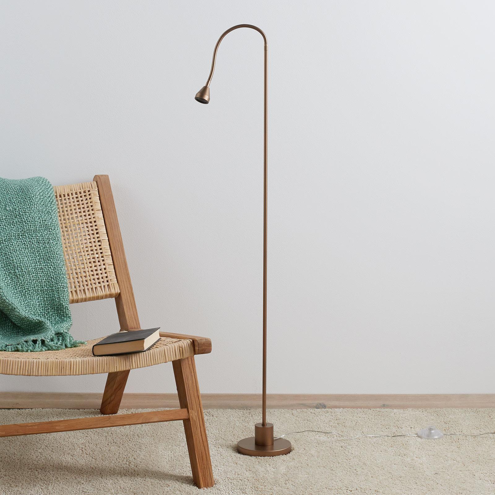 Minimalistisk MINI LED-standerlampe, antik
