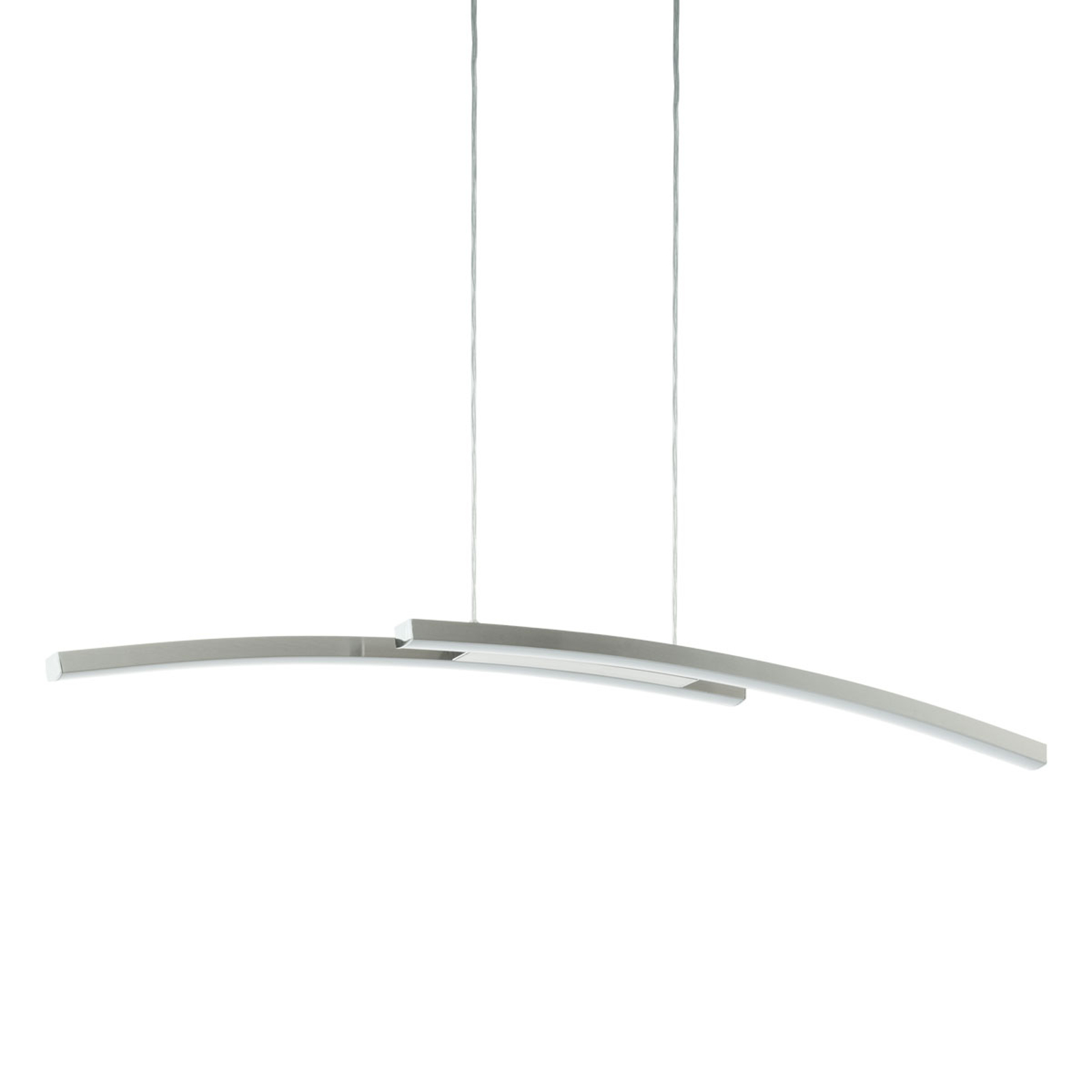 EGLO connect Fraioli-C LED hanglamp, gebogen
