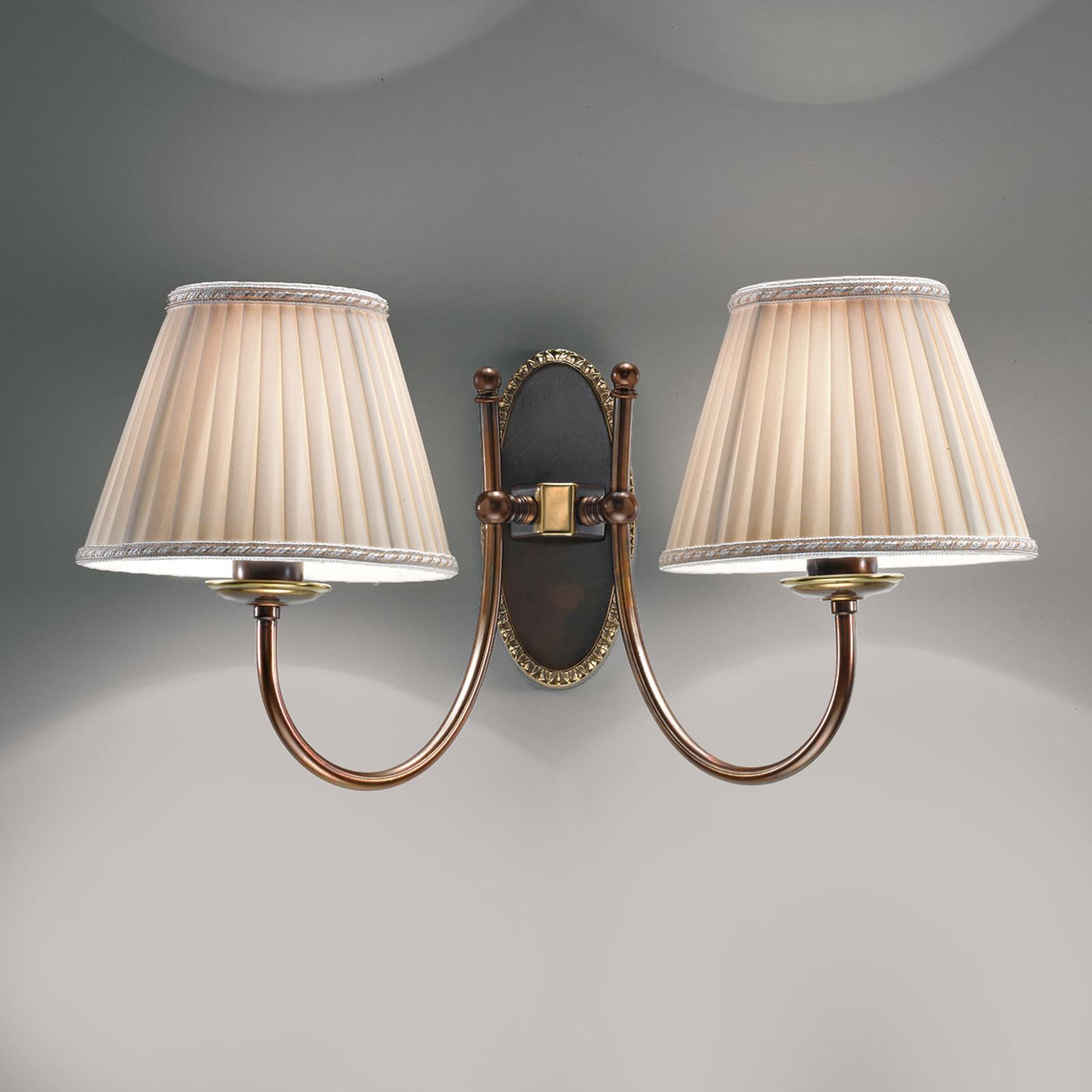 Imponująca piękna lampa ścienna Classic
