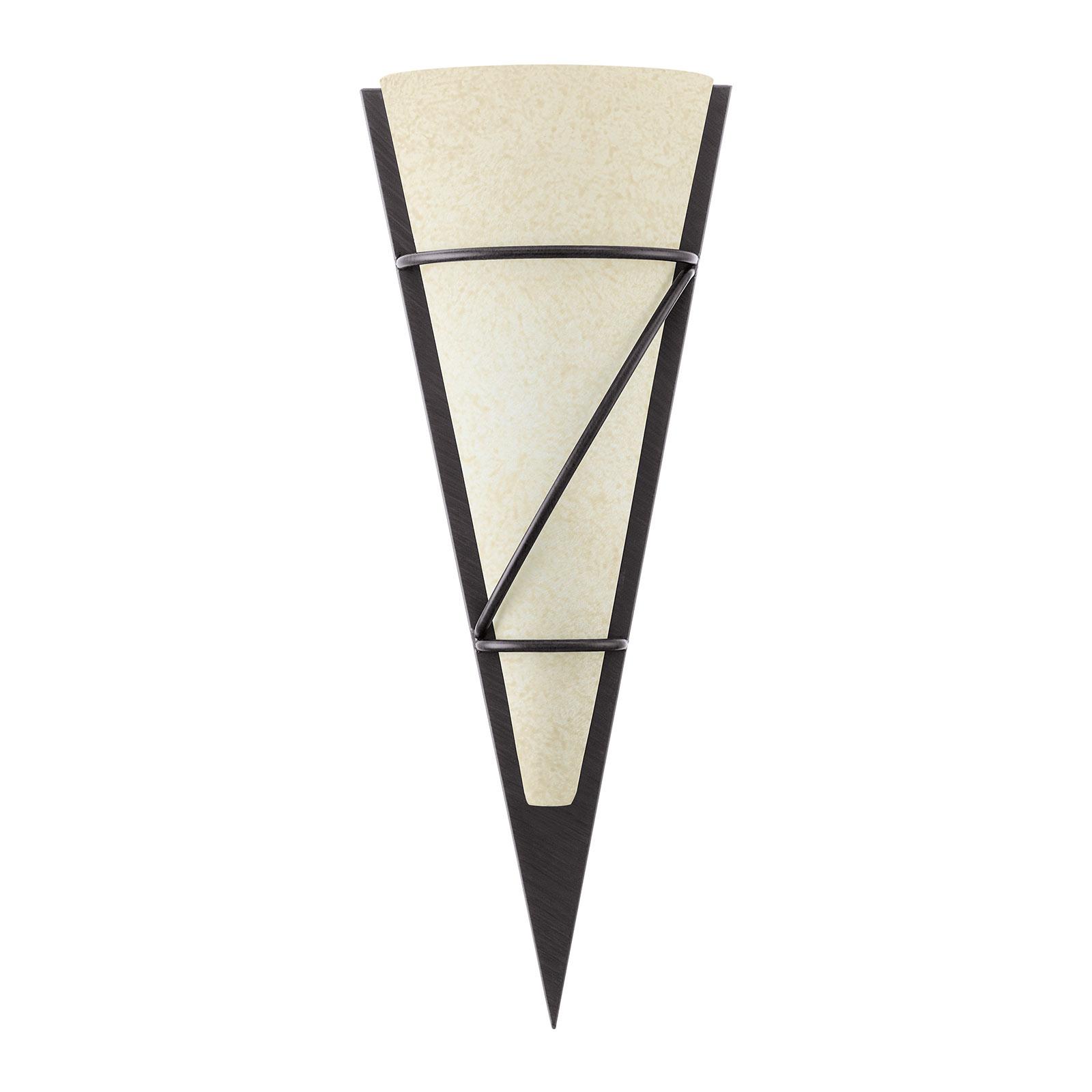 Antyczna lampa ścienna Pascal 48
