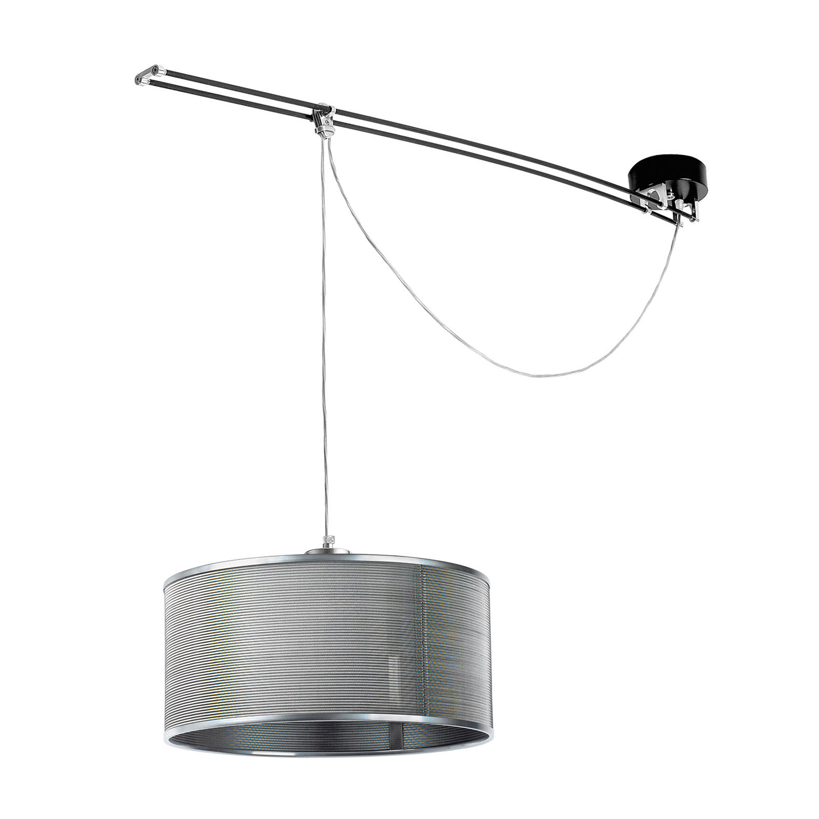 Lumina Moove lampada a sospensione 1 luce, grigio